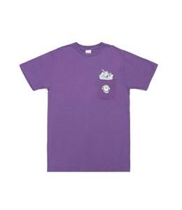 RIPNDIP Футболка Stuffed Tee Purple