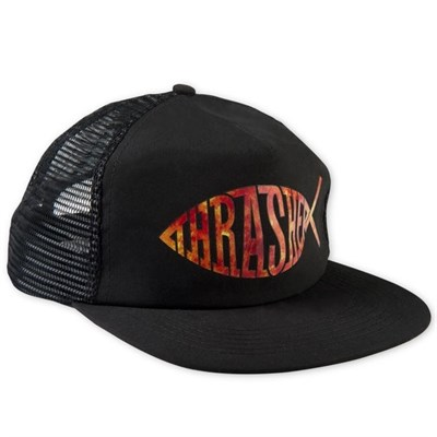 Кепка Thrasher Fish Mesh snapback black
