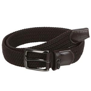 Ремень ЗАПОРОЖЕЦ Classic Elastic Belt (Коричневый (Dark Brown), 125 см)