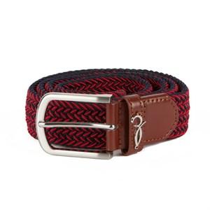 Ремень ЗАПОРОЖЕЦ Classic Elastic Belt (Синий (Navy/Red), 115 см)