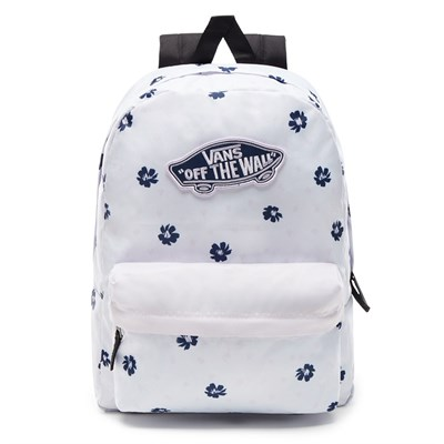 VANS Рюкзак VA3UI6YGA WM REALM BACKPACK WHITE ABSTRA