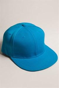 Бейсболка TRUESPIN Acrylic Blank Snapback (Turquoise, O/S)