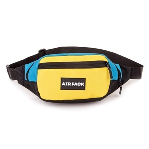 Поясная сумка AIR PACK  желтый\голубой (Размер: OS )