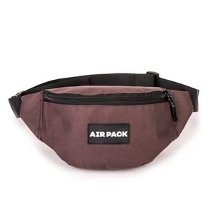 Поясная сумка AIR PACK  коричневая (Размер: OS )