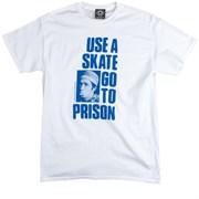 Футболка THRASHER Use a skate go to prsion белая