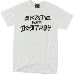 Футболка THRASHER Skate and destroy white