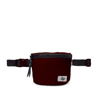 Якорь поясная сумка Полубок бордовый