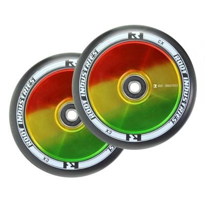 Упаковка колес 2 шт RI 120 mm черно/раста NEW