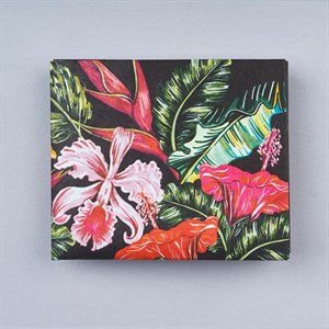 Кошелек NEW WALLET - new Tropicflowers;сделан из Tyvek®