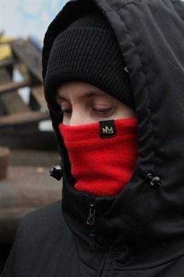 Blk Crown шарф Super Winter Dark red