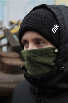 Blk Crown шарф Super Winter Dark green