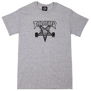 Футболка Thrasher SKATE GOAT grey