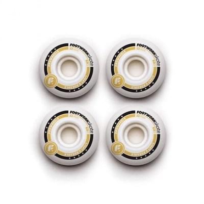 Комплект колес Footwork (LX WHITE 52 мм 60D Форма Sidecut )
