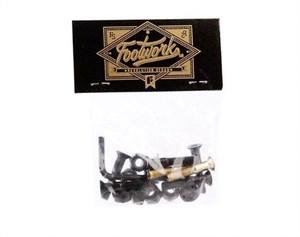 Комплект винтов Footwork GOLD шестигранник, с ключом