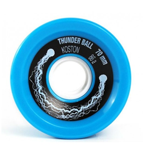 Колеса Koston 70mm 86a голубые