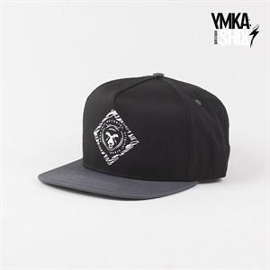 Кепка Ymka Shix bear logo snap (черно-серый)