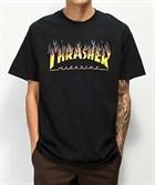 Thrasher футболка BBQ  S/S BLACK - фото 13842